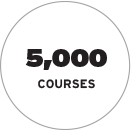 York University has 5,000 courses