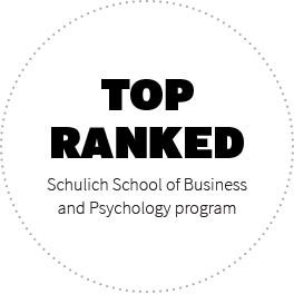 Top ranked Schulich School of Business and Psychology Program